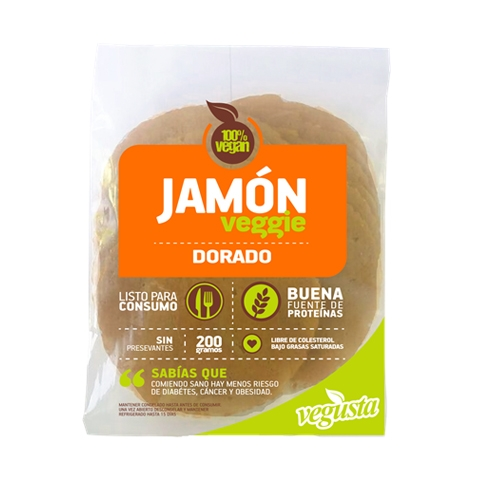 ENVASE JAMON DORADO VEGANO VEGUSTA